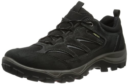 Ecco Mens Xpedition II Low Top Black Schwarz (BLACK/BLACK) Size: 46