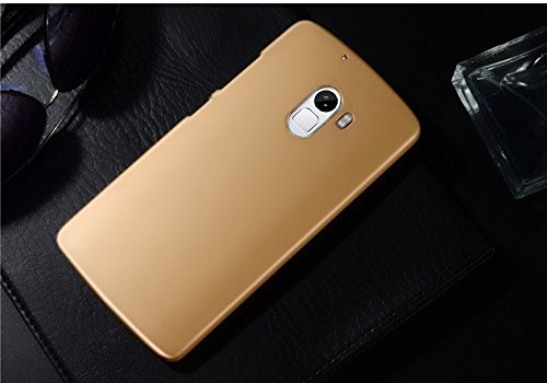 online retailer 43faa 40b17 Shopizone Rubberised Froast Matte Finished Hard Back Case Cover For Lenovo  K4 Note / Lenovo A7010a48 / Lenovo A7010 - Golden