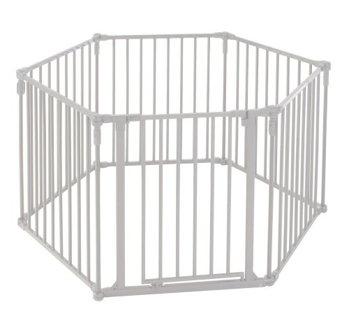 North States Superyard 3-in-1 Metal Gate (North States Super Play Yard compare prices)