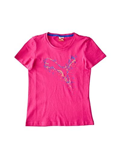 Puma Camiseta Manga Corta Girls Rosa