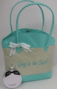 Bundle/2 Items- Going to the Chapel Bride Wedding Tote + Love Never Fails Ring Notepad