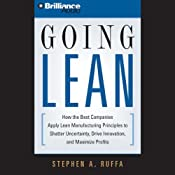 Going Lean: How the Best Companies Apply Lean Manufacturing Principles | [Stephen A. Ruffa]