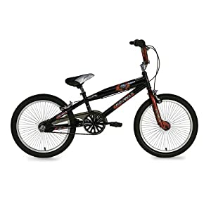 Razor Boy's Aggressor BMX Bike (20-Inch Wheels, Black/Red)