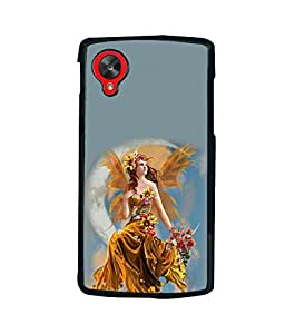 printtech Beautiful Fantasy Girl Back Case Cover for LG Google Nexus 5::LG Google Nexus 5 (2014 1st Gen)