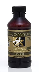 Natural Caramel Flavor - 4 OZ
