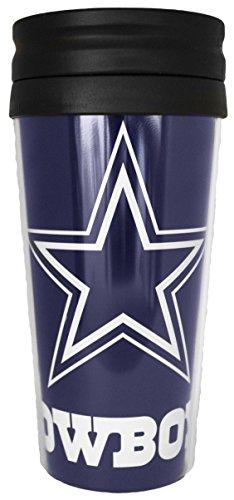 NFL Dallas Cowboys 14 oz Travel Mug (Dallas Cowboys Coffee Travel Mug compare prices)