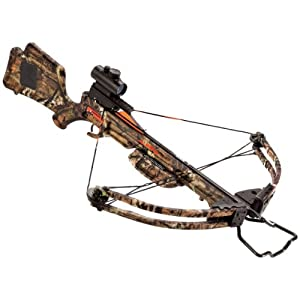 Wicked Ridge Warrior HL Standard Crossbow Package, 175-Pound