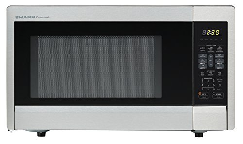 Sharp Countertop Microwave Oven ZR331ZS 1.1 cu. ft. 1000W Stainless Steel