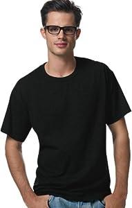 Hanes Men's ComfortBlend® EcoSmart® Crewneck T-Shirt, 4XL-Black