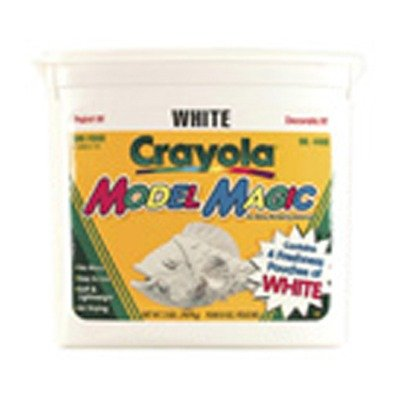 Crayola Model Magic, White, Four 8 Oz. Packs in Resealable Bucket; no. BIN4400