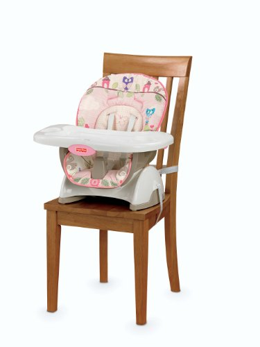 fisher price space saver high chair pink new ebay