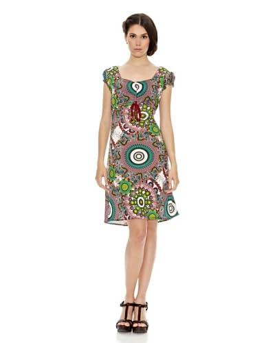 Janis Vestido Fantasía Verde