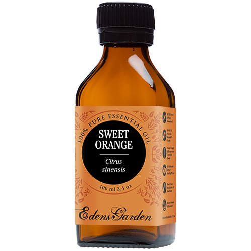 Sweet Orange 100% Pure Therapeutic Grade Essential Oil by Edens Garden- 100 ml