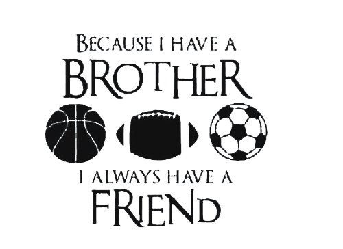Dailinming-PVC-Wall-Stickers-Wall-Sticker-Decal-Quote-Vinyl-Brothers-Friends-Kid-Room-Sports-Decor-Wall-Quote-Decal-51X58CM
