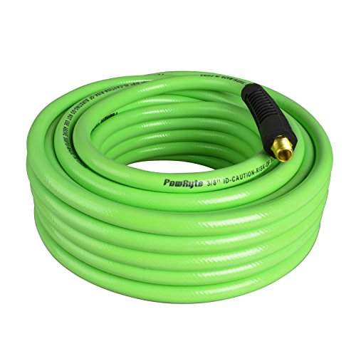 PowRyte 500011 Elite 300 PSI PVC Air Hose - 3/8-Inch by 50-Feet, 1/4-Inch MNPT Brass Ends (3 4 Compressed Air Hose compare prices)