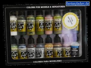 Vallejo Model Air Nato Brown Paint, 17ml