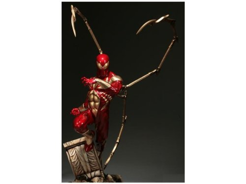 Buy Low Price Sideshow Marvel Iron Spider Man Comiquette Statue Figure (B002056HTG)