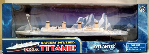 RMS Titanic Battery Powered Toy Atlantis Toy and Hobby (Titanic Model compare prices)