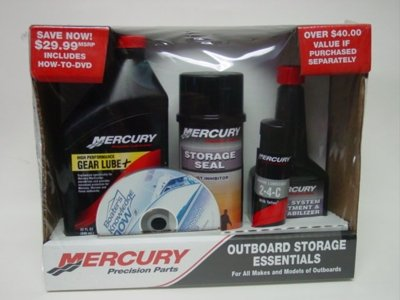 Mercury Precision Outboard Storage Essentials Kit
