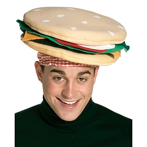 Rasta Imposta Cheeseburger Hat, Multi, One Size