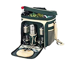 Sutherland Baskets Cafe Pacifico Coffee Set in Green