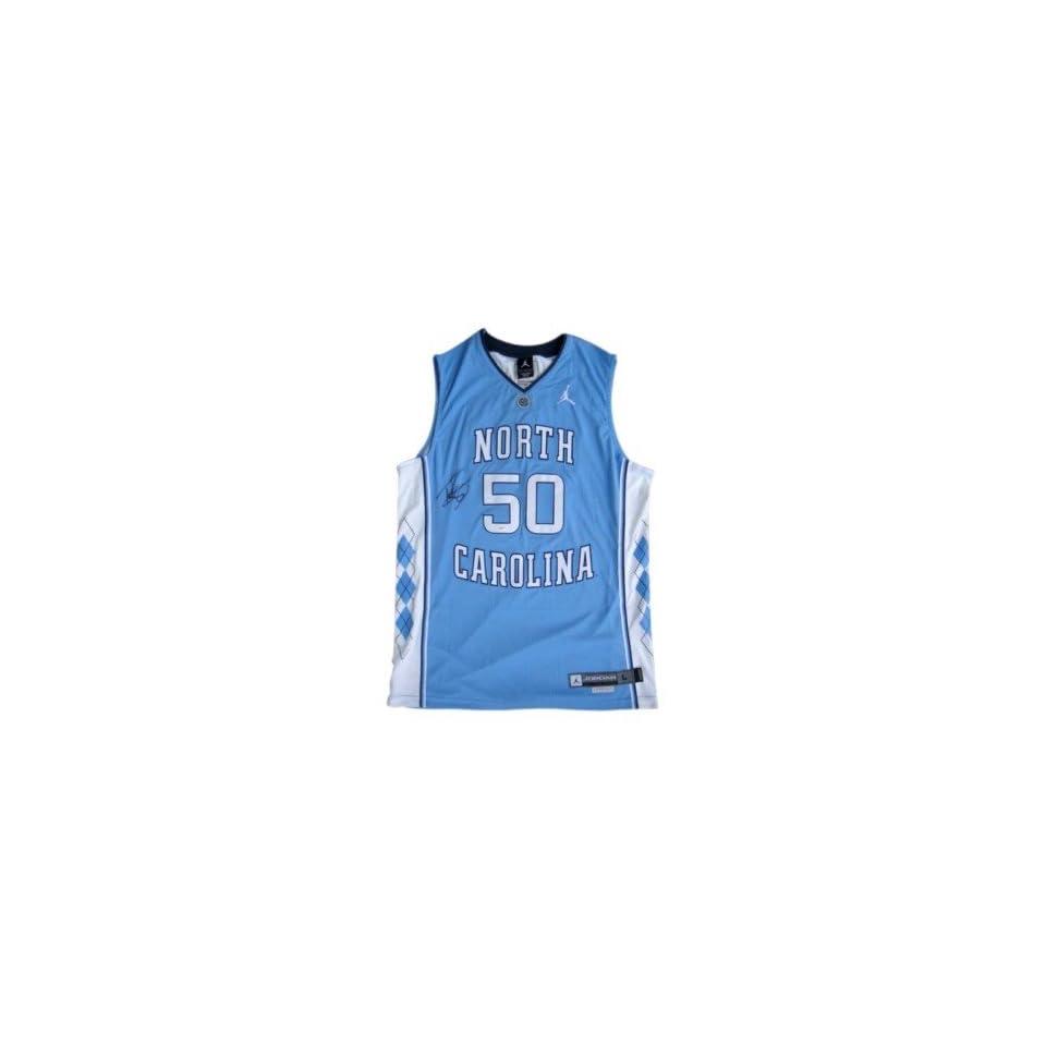 6cd4ca1e286 Tyler Hansbrough Autographed Jersey North Carolina UNC JSA Autographed NBA  Jerseys