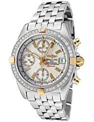 Discounted Men's Windrider Automatic/Mechanical Chrono White Diamond White Dial SS USA Sale