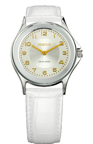 Jowissa - J4.011.M - Montre Homme - Quartz Analogique - Bracelet Cuir Blanc