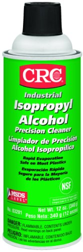 Crc 03201 Isopropyl Alcohol Cleaner, (Net Weight: 12 Oz.) 16Oz Aerosol