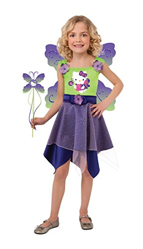 Hello Kitty Purple Butterfly Fairy Dress-Up Outfit
