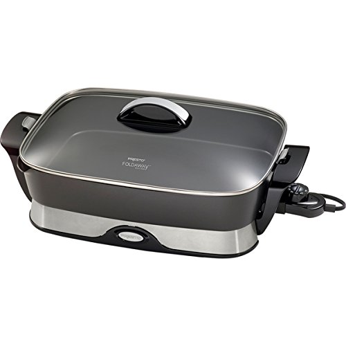 Presto 16-inch Foldaway Electric Skillet (Wattage: 1500) (Deep Dish Electric Frying Pan compare prices)