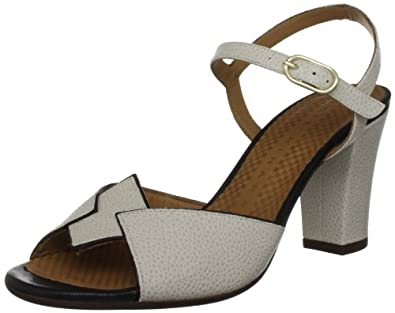 Chie Mihara Women's Valencia Milk White Ankle Strap Sandals 5 UK