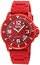 Ritmo Mundo Unisex 314 Red Hercules Aluminum Quartz Watch
