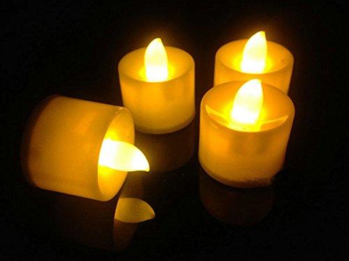 Hossen® 24Pcs Led Electronic Candle,Yellow Candle,Flicker Electronic Flameless