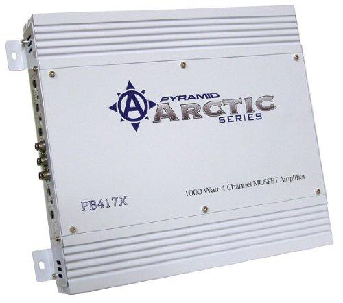 Pyramid Pb417X 1000 Watt 4 Channel Bridgeable Mosfet Amplifier front-881063