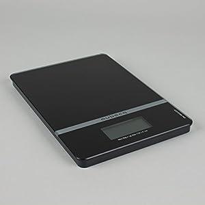 Aubecq 1002 Precision Scales Reinforced Glass Black