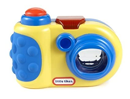 Little Tikes DiscoverSounds Camera Blue 6+ Months/yellow with blue trim by Little Tikes
