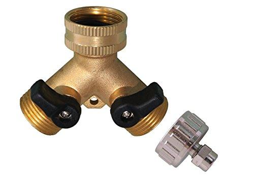 AS3-YM-2-Wege-Y-Verteiler-mit-Absperrhhnen-fr-Zapfhhne-und-Ventile-Anschlu-34-IG-auf-14-AG-Wasserschlauch-6mm