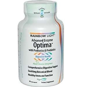 rainbow light advanced enzyme optima 90 vegetarian. Black Bedroom Furniture Sets. Home Design Ideas