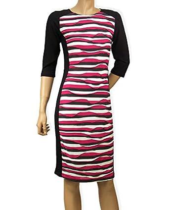 Bodycon-Kleid gestreift 46 (UK 20)