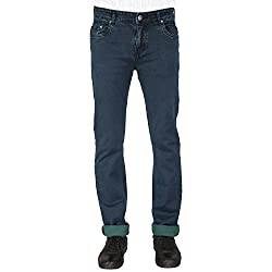 Flags Vintage Green Stretch Slim Fit Men's Jeans_Size 32