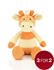 Mini Jarvis Giraffe Soft Toy
