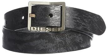 Diesel Men's Biflav Belt, Black, 105