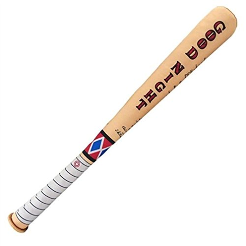 [NEW! DC Comics Suicide Squad Harley Quinn Good Night Crazy Swat Soft Baseball Bat] (Baseball Bat Man Costume)