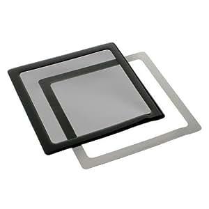 DEMCiflex Staubfilter 140mm schwarz/schwarz