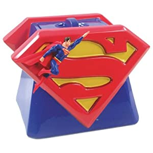 Superman - Flying Shield Cookie Jar