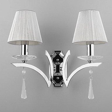 STATESVILLE - Lampe Murale Cristal - 2 slots š€ ampoule
