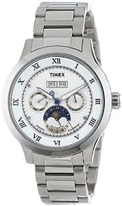 (快抢)Timex 天美时 T2N291AB SL 男款年历 三眼 日昼交替自动机械腕表 $117.26