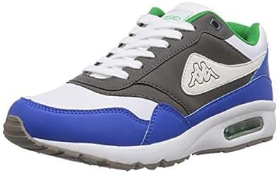 Kappa KONFEKT Footwear unisex, Unisex-Erwachsene Sneakers, Grau (1660 grey/blue), 40 EU (6.5 Erwachsene UK)