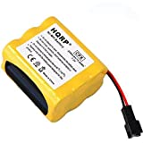 HQRP 2200mAh Extended Rechargeable Battery for Tivoli PAL Radio ; Tivoli Audio iPAL Portable Audio Laboratory AM / FM Radio